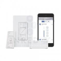 Kit Control de iluminación,  Hub controlador, atenuador, control y tapa.