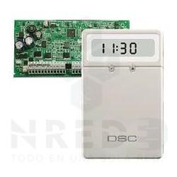 DSC Alarma 1832 + Teclado LCD de Íconos Pequeño
