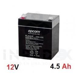 Batería con Tecnología AGM/VRLA 4.5 Ah