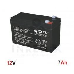 Batería AGM / VRLA / 12 Vcd / 7 Ah