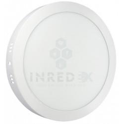 Panel LED Sobreponer Redondo 12W