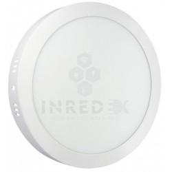 Panel LED Sobreponer Redondo 24W