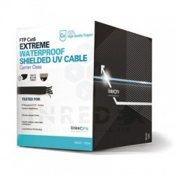 Cable FTP Cat6/ 305m/  Cobre 100%/ Calibre 23AWG