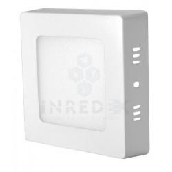 Panel LED De Sobreponer Cuadrado 6W