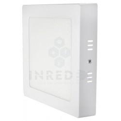 Panel LED De Sobreponer Cuadrado 12W