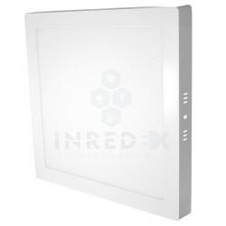 Panel LED De Sobreponer Cuadrado 24W