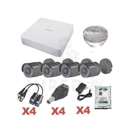 Kit Camaras de Seguridad 720P