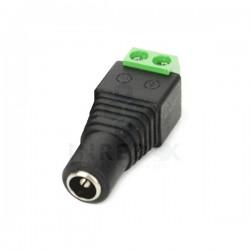 Conector Hembra 12 Vcd de tornillo