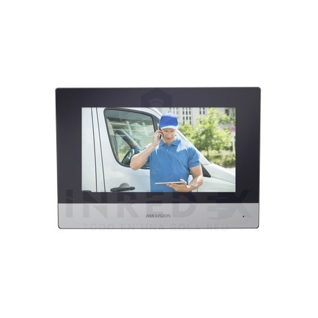 "Monitor IP WiFi Touch Screen 7"" para Videoportero IP Llamada Entre Monitores / Audio de dos vías / Policarbonato"