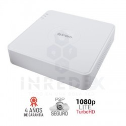 DVR 8 Canales 1080p Lite / 8 Canales TURBOHD + 2 Canales IP