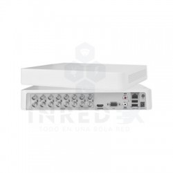 DVR 1080p Lite / 16 Canales TURBOHD + 2 canales IP